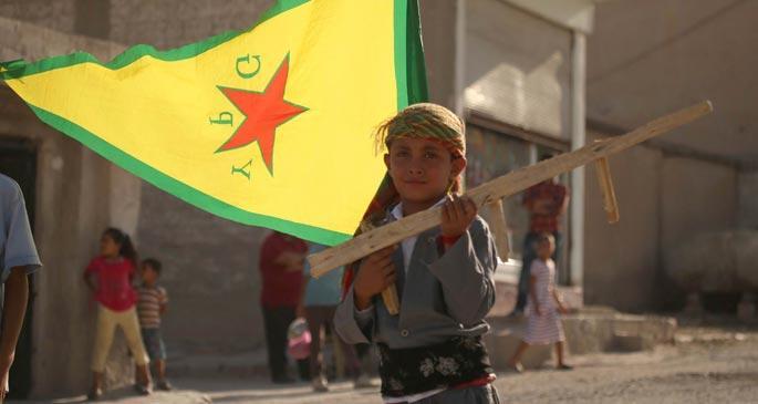 Kobani\'de çocuk olmak
