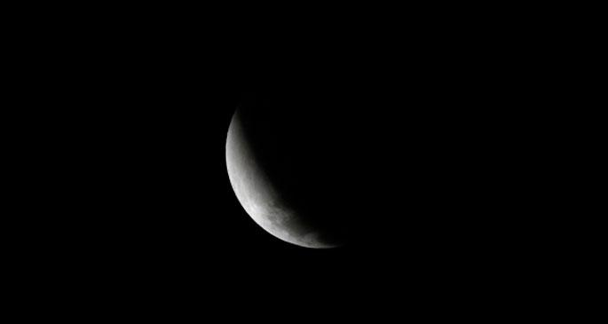 'Kızıl' ay tutulması