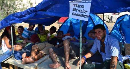 Trakya'nın gözünden gençlik kampı