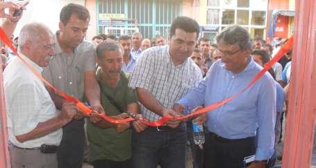Pertek'te Eğitim ve Kültür Evi açıldı