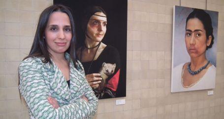 Kadın portrelerine şiddetin izi düştü