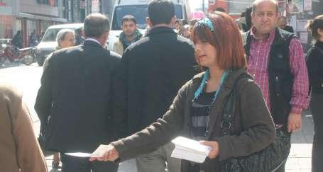 Adana'da kadınlar 8 Mart