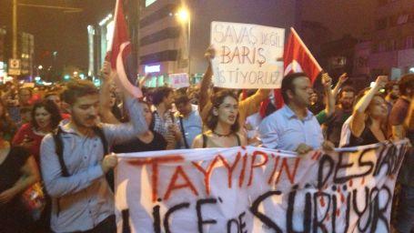 Lice'nin gözyaşları Kadıköy'e aktı