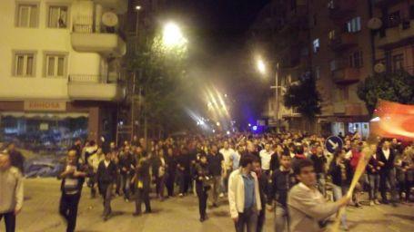 Uşak'ta 5 bin kişi yürüdü
