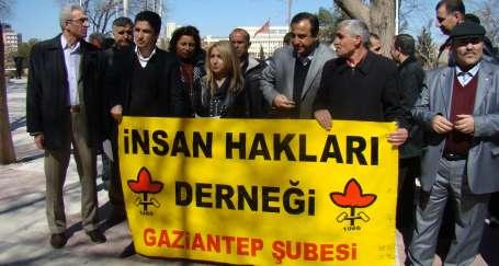 Antep'te gazetecilerle dayanışma