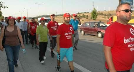 MAS-DAF işçileri Ankara'da
