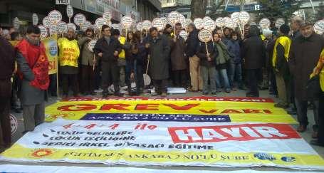 Ankaralı emekçiler her koldan Kızılay'a gelecek