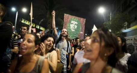 İsrailliler sosyal adalet için ayakta