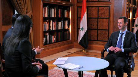 Esad: Batı, El Kaide'yi destekliyor