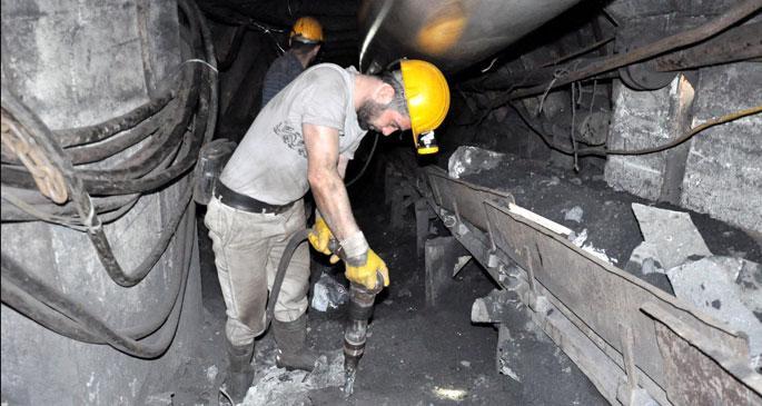 10 madenciden biri iş kazası geçiriyor