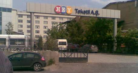 İstanbul'dan Hey Tekstil işçilerine destek
