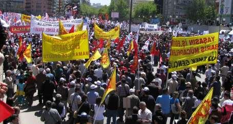 Ankara 1 Mayıs'a hazırlanıyor