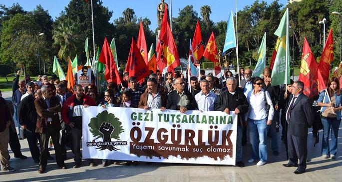 14 Gezi tutuklusu tahliye edildi