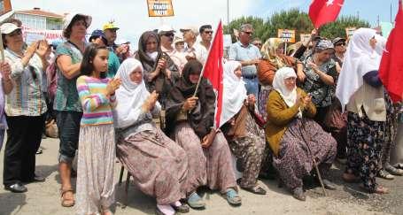 Kazdağları'nda kadınlar direnişin en önünde