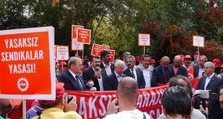 Şantaj yasası işçileri durduramaz!