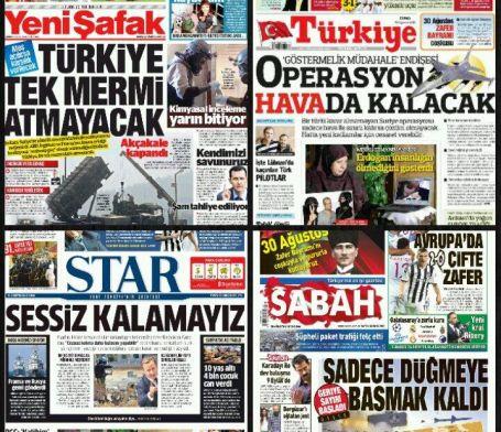 Koalisyon çatırdarken medya azgınlaşıyor