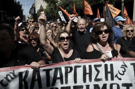 Yunanistan'da 48 saatlik grev
