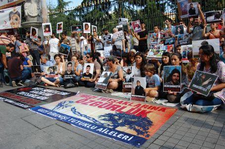 Gezi Tutsakları Aileleri adalet arıyor