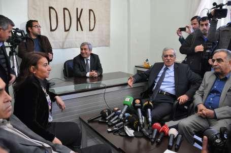 DTK, süreci Kürt partileriyle değerlendirdi
