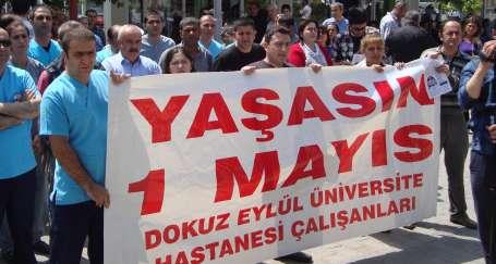 İzmir'de ilk kutlama Dokuz Eylül'de yapıldı