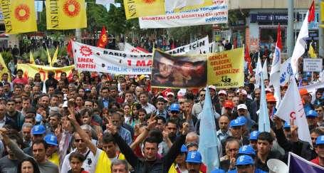 1 Mayıs alanlarından AKP'ye tepki yağdı