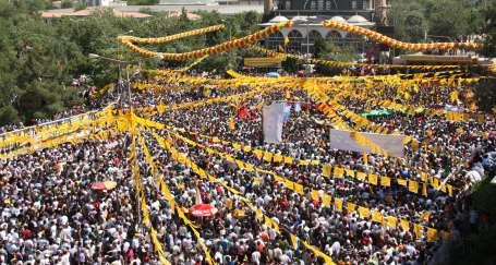 Özerklik yürüyüşü Diyarbakır
