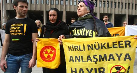 Nükleer yaşamımızı tehdit ediyor