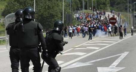 İspanya'da madencilerin öfkesi dinmiyor