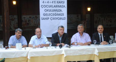 4+4+4'e karşı Ankara'ya yürüyecekler