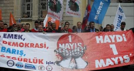 İzmir'de 1 Mayıs başvurusu yapıldı