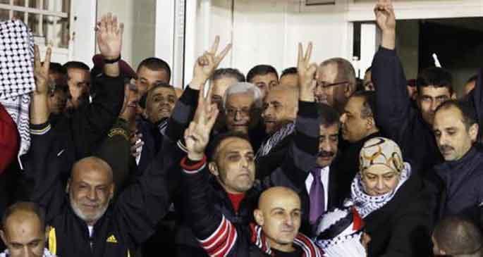 26 Filistinli özgürlüğüne kavuştu