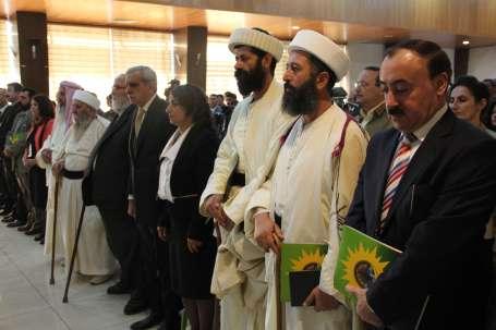 Êzidiler Diyarbakır'da buluştu