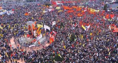 İSTANBUL: İşçilerin birliği, halkların kardeşliği