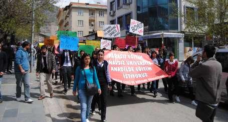 Dersim'de boykot
