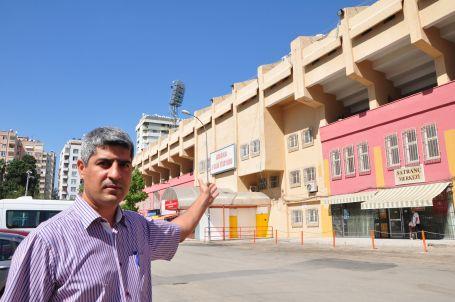 Stadyumun imar değişikliğine dava