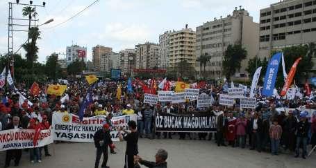 Adana'da ruhuna uygun 1 Mayıs