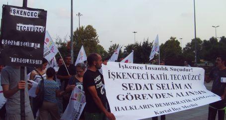 Kartal'da Selim Ay tepkisi