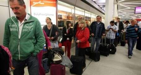 Lufthansa grevi etkili oldu