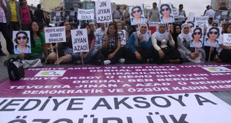 'Hediye Aksoy serbest bırakılsın'