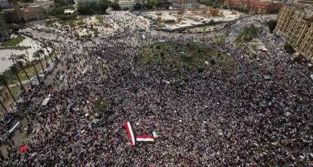 Tahrir'den Gazze'ye özgürlük yürüyüşü