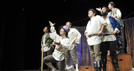 Shakespeare'e Maya Sahnesinden selam