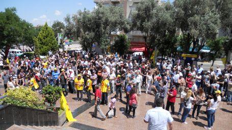 Gezi direnişi grevle birleşti