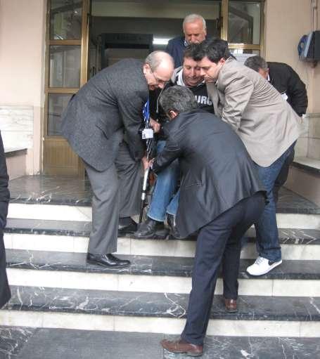 Engelli adaylara YGS işkencesi