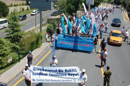 THY işçilerinin direnişi tüm yurda yayılıyor