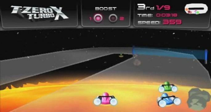 3D Araba Yarışları Oyun Gemisi'nde