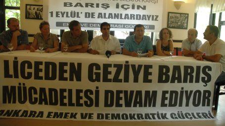 Ankara barış için sokağa çıkıyor
