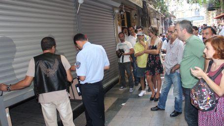Beyoğlu Belediyesi İşletmeleri kapatmaya devam ediyor