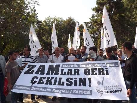 AKP'ye Kayseri'den 'zam' selamı