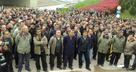 2 bin Harb-İş üyesinden uyarı eylemi
