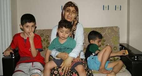 Koca dehşetinden kurtulan anne çocuklarına kavuştu